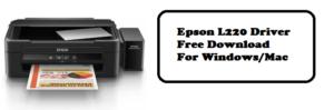 Epson L220 Printer Driver