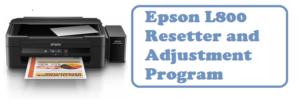 Epson L800 Resetter